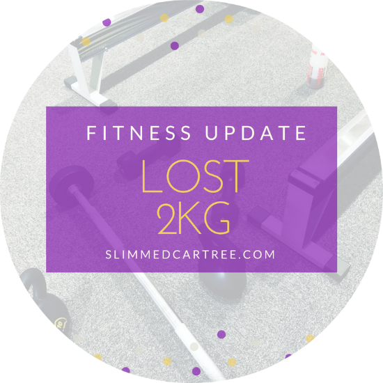 Fitness Update // Lost 2KG