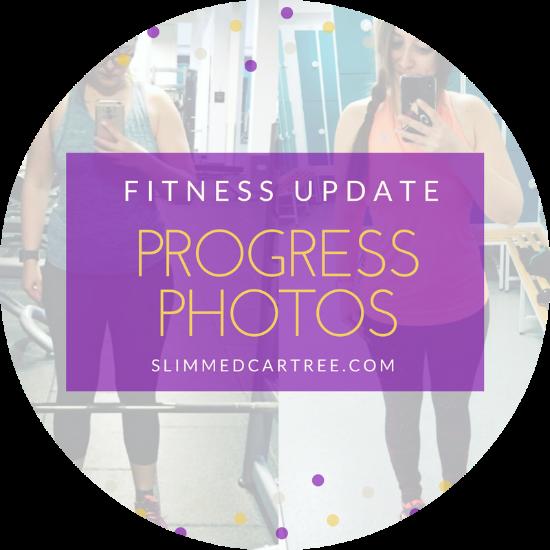 Fitness Update // Transformation photos