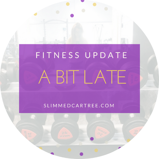 Fitness Update // Late late
