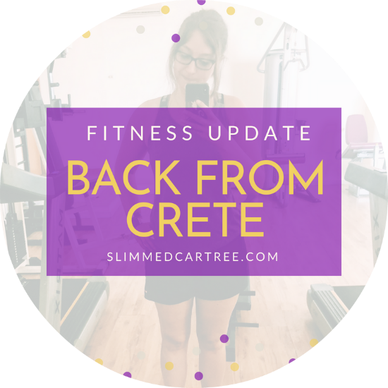 Fitness Update // Back from Crete!