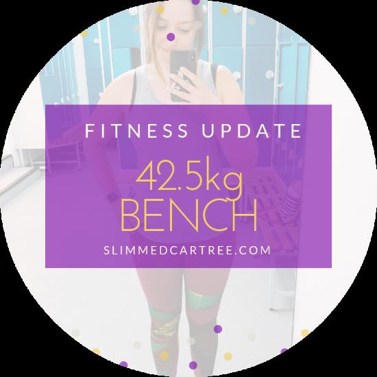 Fitness Update // 42.5kg bench!