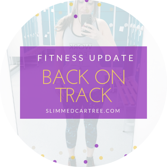 Fitness Update // Back on track