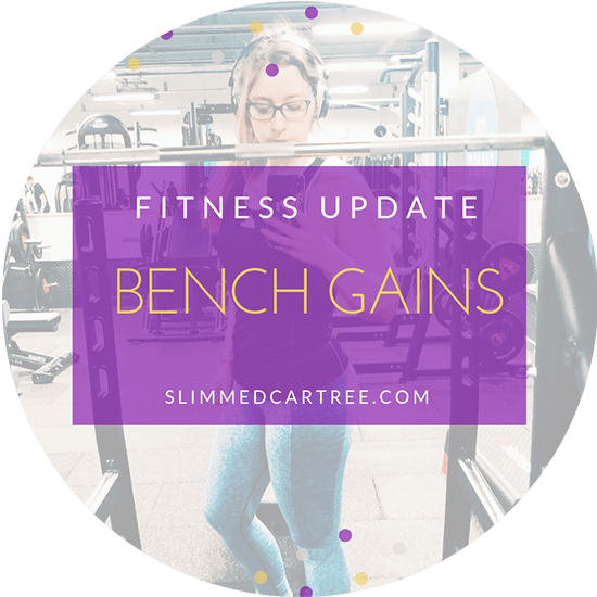 Fitness Update // Bench gains!