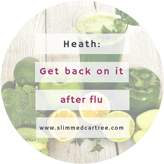 How to Get Back on Track after the Flu