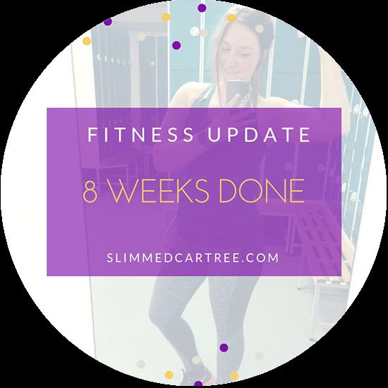 Fitness Update // Week 8 is over