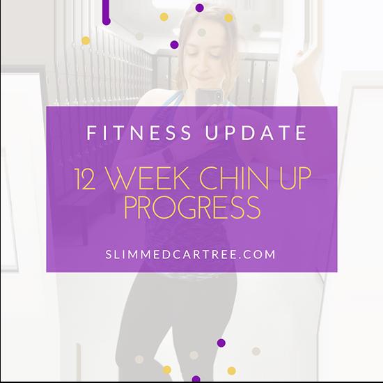 Fitness Update // 12 week pull-up progress